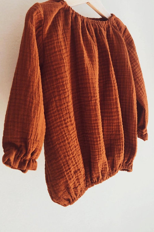 CLOE ★ camicia bambina in 100% cotone