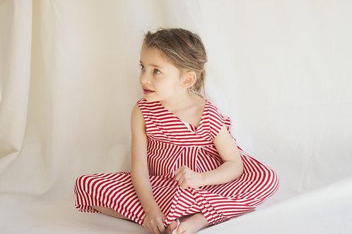 OLIVIA★ vestito bambina in jersey di cotone