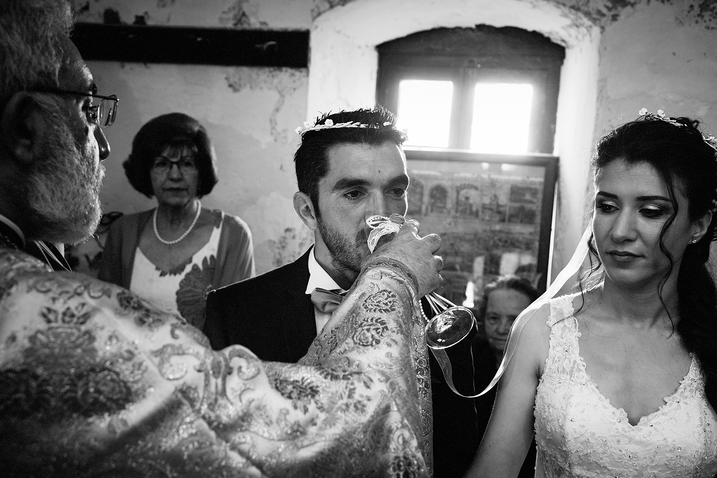 wedding ceremony © Alexandros Dalkos