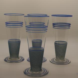 1950's lemonade glasses