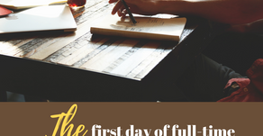 Ep 286: The first day of full-time entrepreneurship...play by play