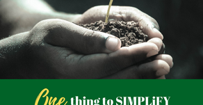 Ep 290: ONE thing to SIMPLIFY life right NOW