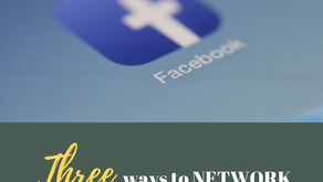 Ep 232: Three ways to NETWORK on FACEBOOK