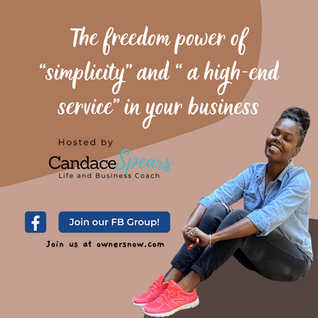 """The freedom power of """"simplicity"""" + """" a high-end service"""" in your business"""