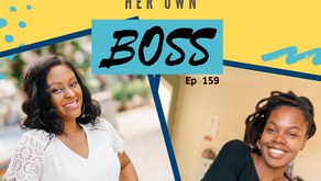 Ep 159: Being a single mom of 4 didn't stop her hustle to be her own BOSS