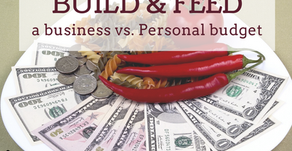 Ep 135: Three ways to BUILD and FEED a business vs. personal budget