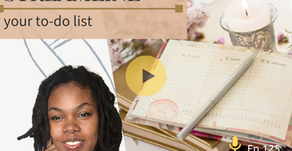Ep 125: Task & planning tools to STREAMLINE your to do list