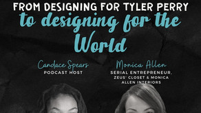 S2 Ep 18 From designing for Tyler Perry to designing for the WORLD [w/ Monica Allen]
