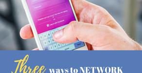 Ep 246: Three ways to NETWORK on INSTAGRAM