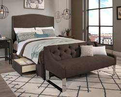 Grey Newport Storage & Sofa (30451-B-S, 30452-B-S)