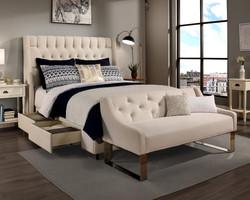 Ivory Cambridge Storage & Sofa