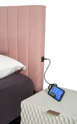 channel headboard USB