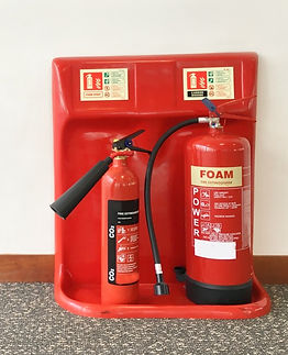 Fire Extinguishers for Servicing by Office Compliance Management, London UK