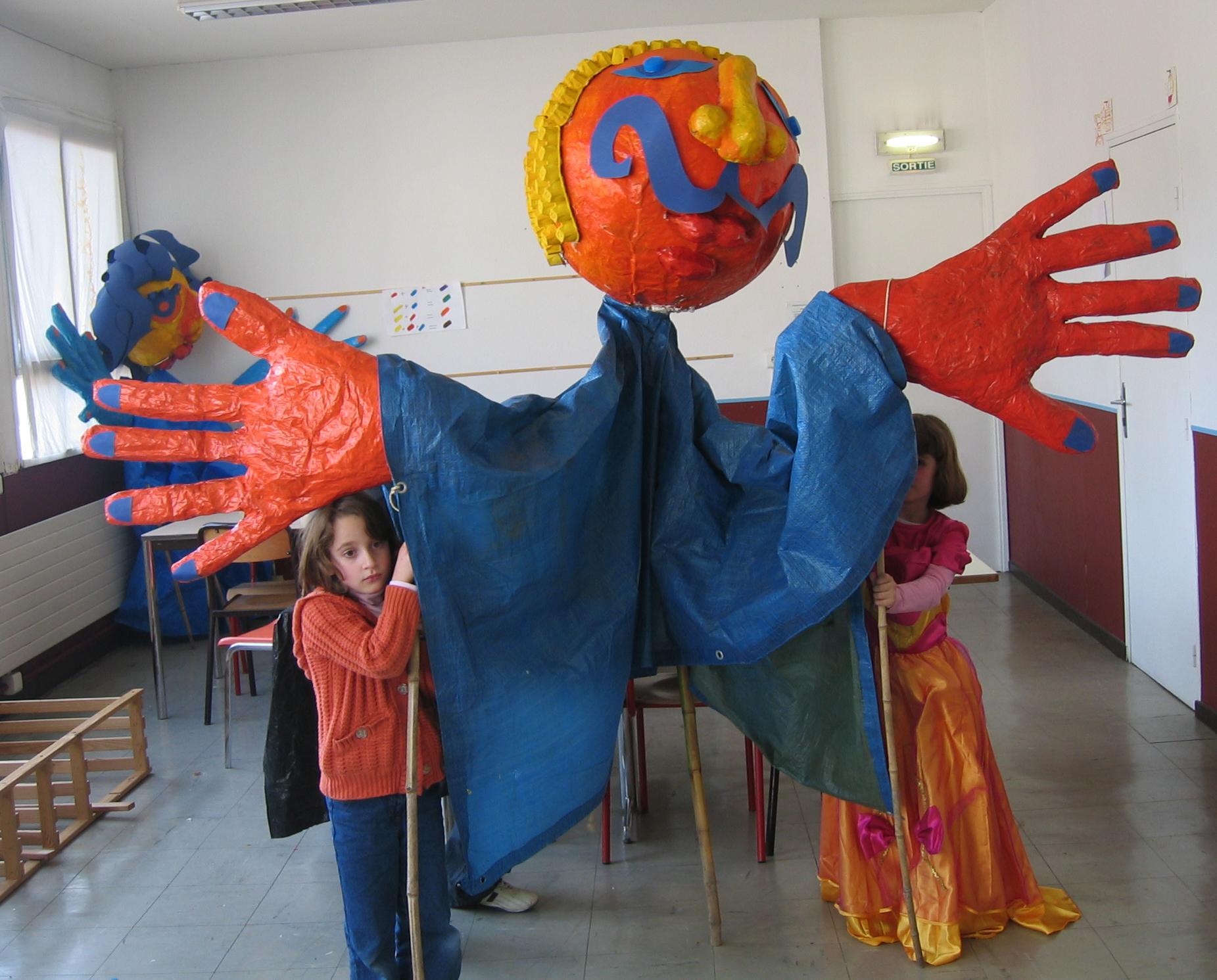 Marionnette géante