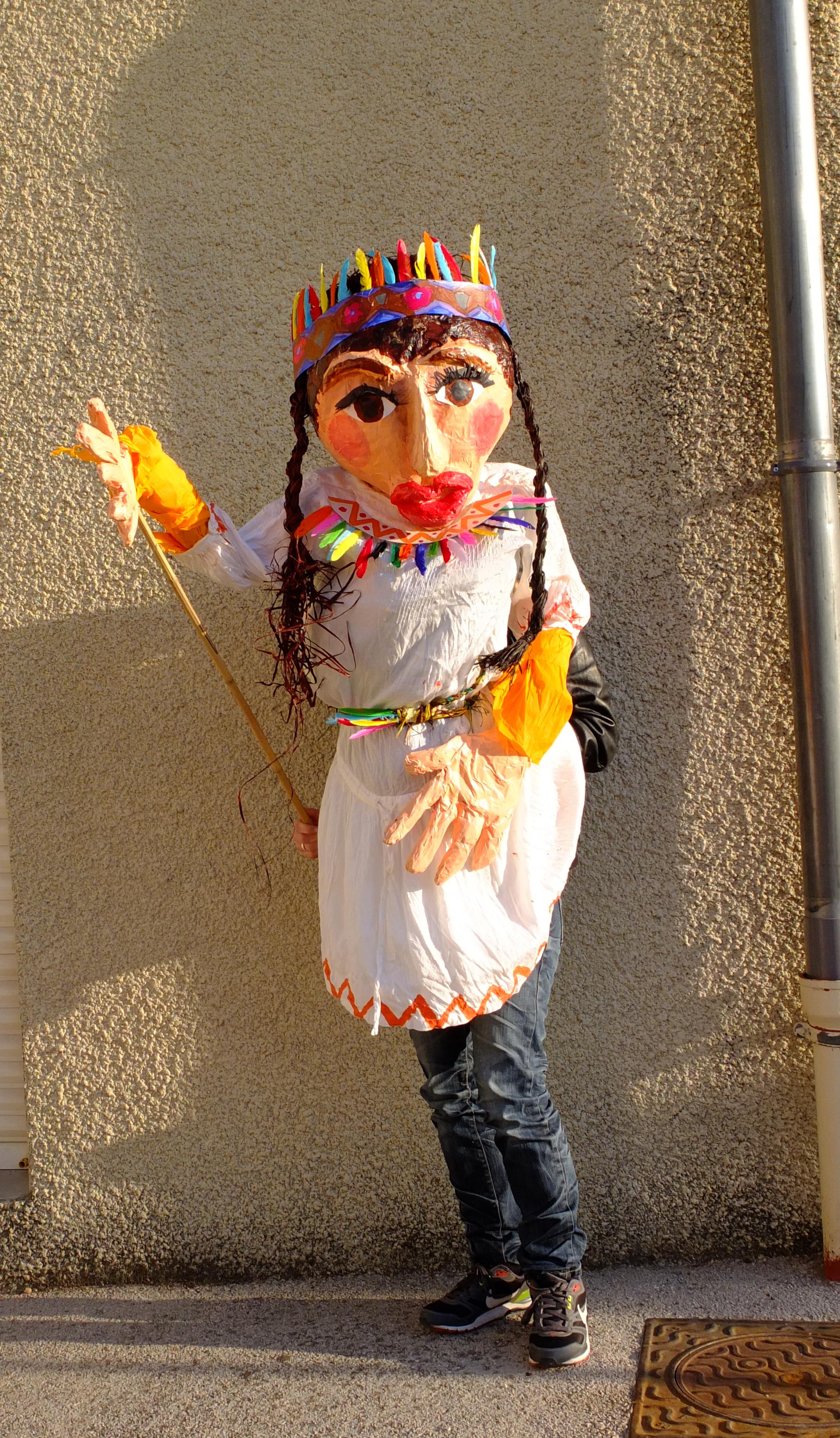 Marionette portée