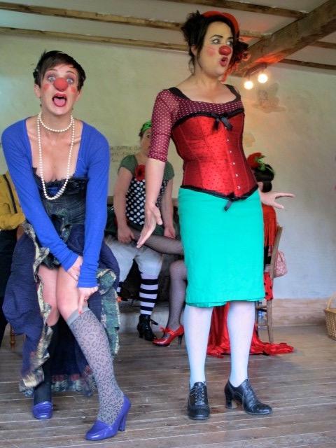 Les Zurbaines -Cabaret clown