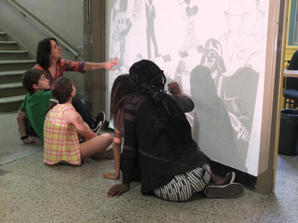 Création de fresque