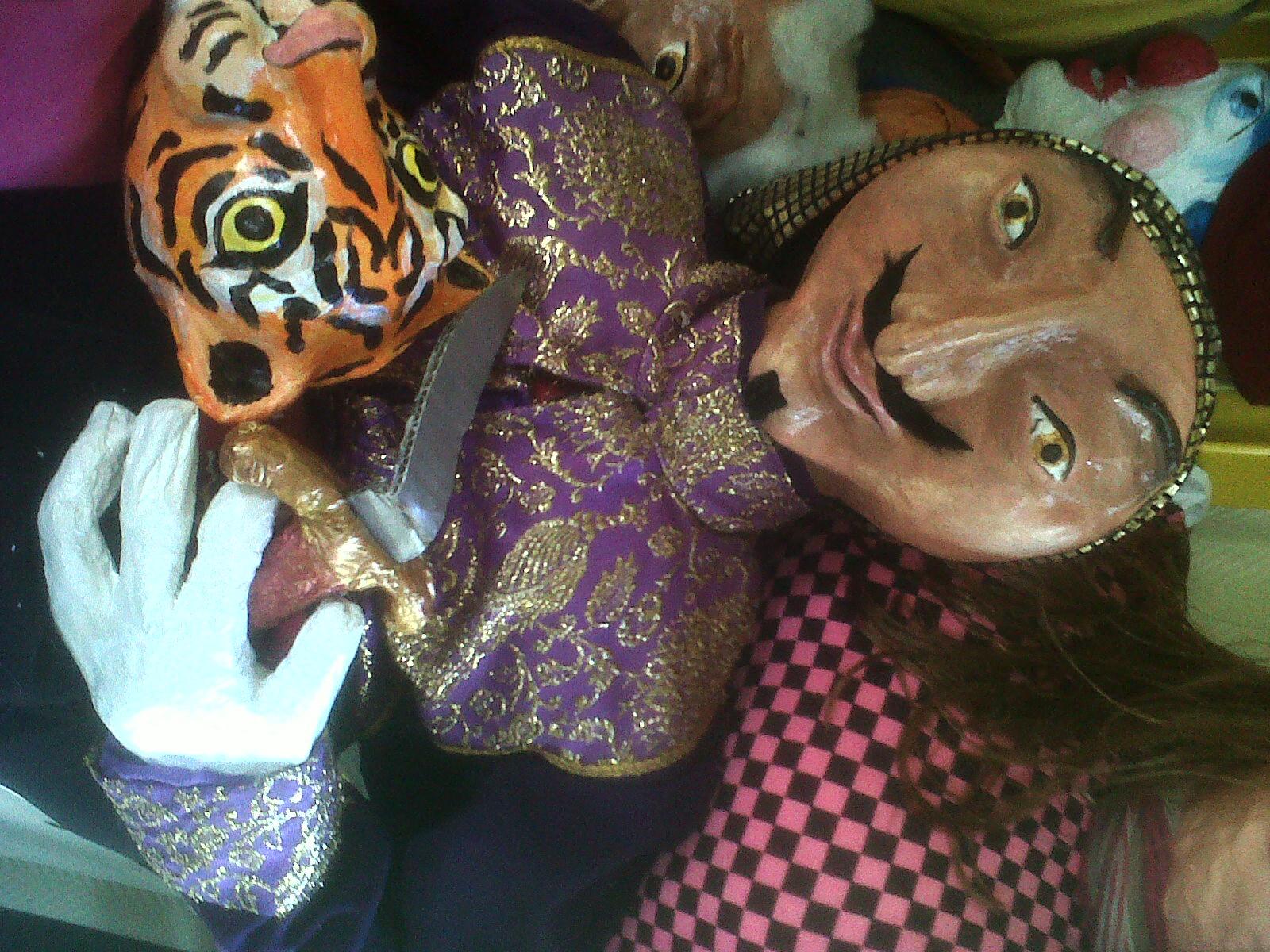 Marionnettes / Thème Cirque