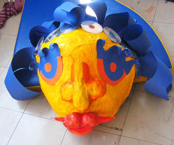 Tête de Madame carnaval