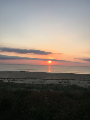 Bethany Beach at sunrise