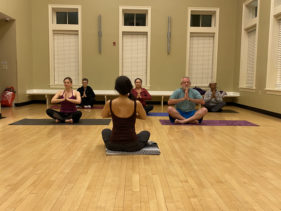 Yoga Mix class in Maple Lawn