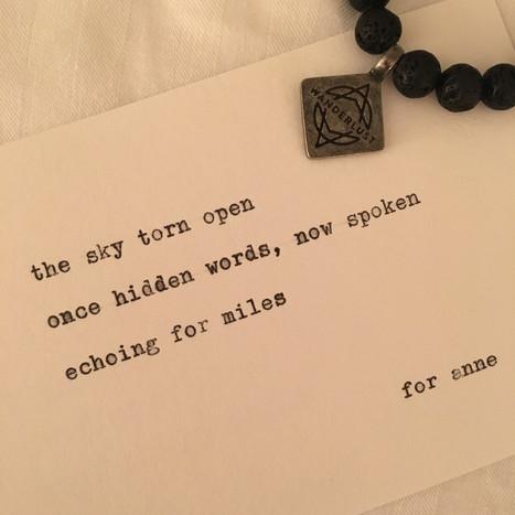 street haiku at Wanderlust