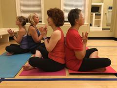 Yoga Mix class before social distancing!