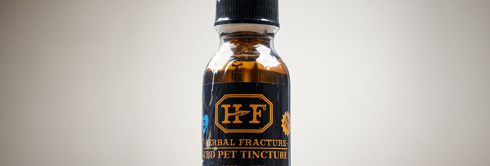 Herbal Fracture CBD Pet Tincture 1200mg 4% CBD