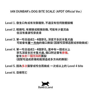 Ian Dunbar's Dog Bite Scale
