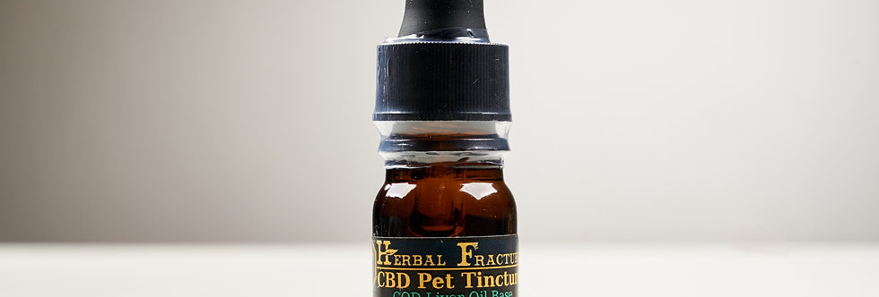 4% Herbal Fracture CBD Pet Tincture (200mg/5ml) SAMPLE