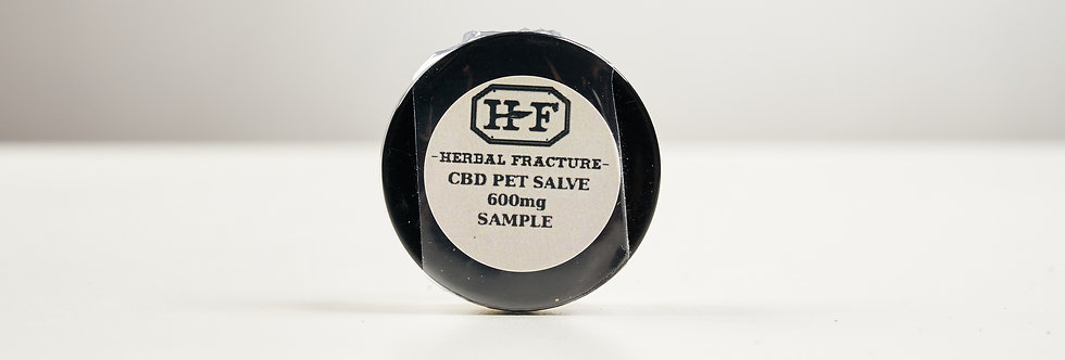 Herbal Fracture CBD Pet Salve Sample