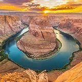 Horseshoe Bend Arizona Page Podkowa rzeka