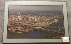 Cincinnati Ohio Blue River 36x24