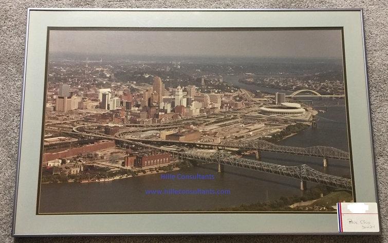 Cincinnati Ohio River Blue