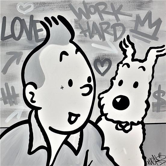Vintage Tintin