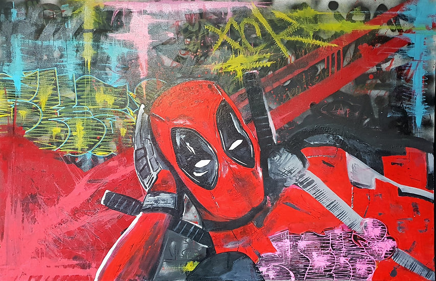 Deadpool troll my Art ?