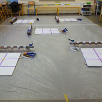 Préparation de l'atelier de production commune