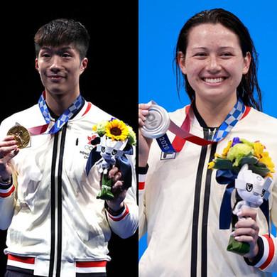 恭喜香港運動員於奧運會取得佳續!