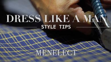 《DRESS LIKE A MAN》Style Tip 1 : 身在香港,如何挑選西裝質料