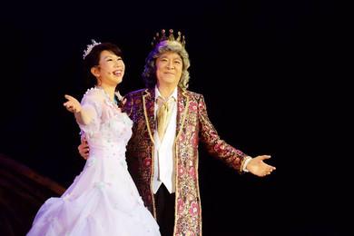 音樂劇「睡公主與月亮王國之謎」製作的宮庭服飾