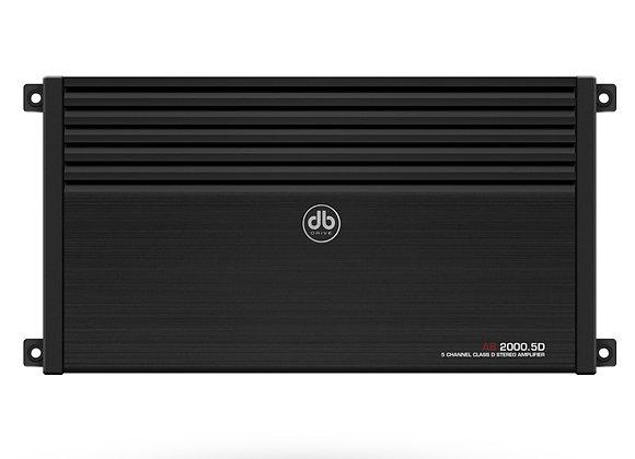 Amplificador DB Drive Okur A82000.5D Clase D