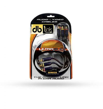 Cableado DB Link RCA UFAV20