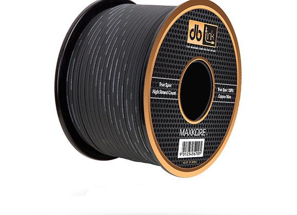 Rollo De Cable De Bocinas DB Link Maxcore MKSW12BK250