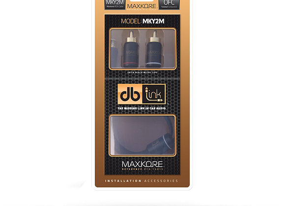 Cableado DB Link Maxcore 1 hembra y 2 machos MKY2M