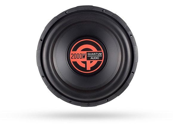 Subwoofers Quantum Audio Q2000/12D