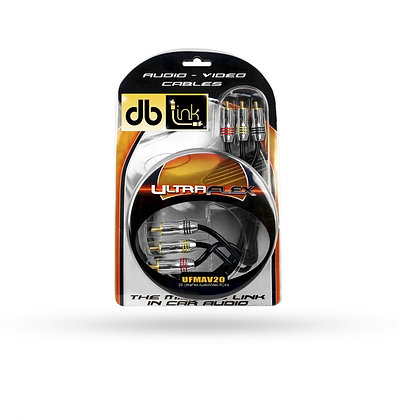 Cableado DB Link RCA UFMAV20