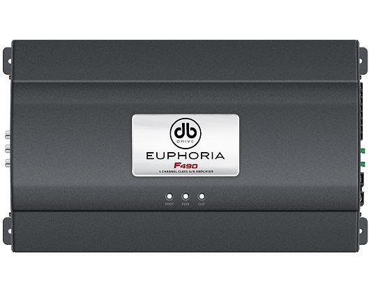 Amplificador Euphoria F490 Clase AB