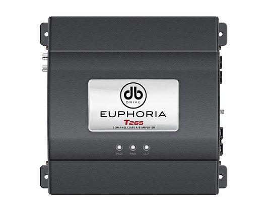 Amplificador Euphoria T265 Clase AB
