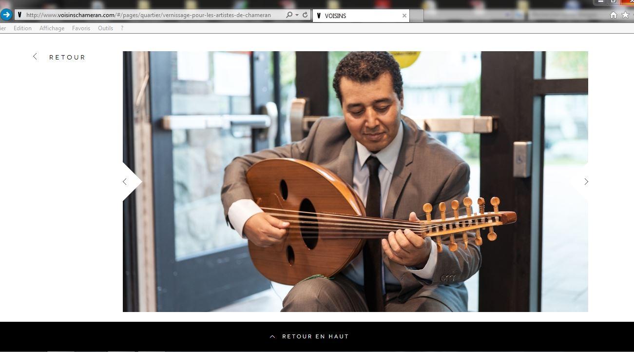 aziz daouni  Chameran site web