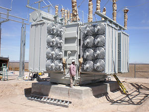 Transformer Painting, Substation Painting, Flowcoating